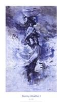 "Stormy Weather I by Johanne Cullen - 20"" x 33"""