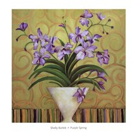 Purple Spring Fine Art Print
