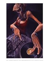 "DJ Jewel by David Garibaldi - 8"" x 10"""