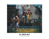 "In Mid Air (28 x 22) by Lonnie Ollivierre - 28"" x 22"""