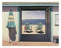 "Beach Club by Daniel Pollera - 30"" x 24"""