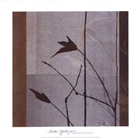 "Umber and Gold by Linda Yoshizawa - 12"" x 12"", FulcrumGallery.com brand"