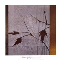 "Umber Leaves by Linda Yoshizawa - 12"" x 12"", FulcrumGallery.com brand"