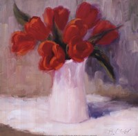 Red Tulips Fine Art Print