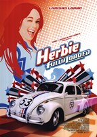 "Herbie:  Fully Loaded by Walt Disney - 20"" x 28"""
