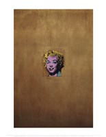 Gold Marilyn Monroe, 1962 Fine Art Print