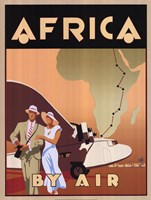 "Africa by Air by Bill James - 18"" x 24"""