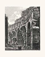 Views Of Rome (Portrait) B&W Fine Art Print