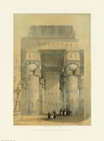 Egypt - Temple Of Dendra Fine Art Print