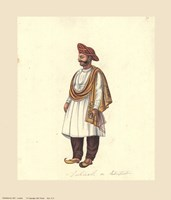Indian Costumes Fine Art Print