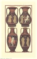Greek Vases Fine Art Print