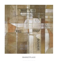 Marketplace Fine Art Print