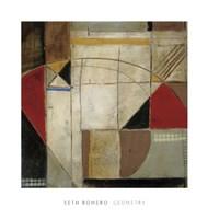 "Geometry by Seth Romero - 20"" x 21"""