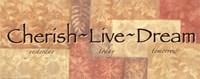"WTlb ButterscotchCherish, Live Dream by Angela D'amico - 20"" x 8"""