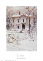 Victorian Winter, 1987 Framed Print