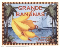 Grande Bananas Fine Art Print