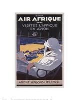 Air Afrique Fine Art Print