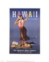 Hawaii by Clipper Fine Art Print