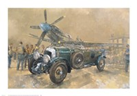Bentley and Spitfire Fine Art Print