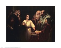 Christ in the Temple Fine Art Print