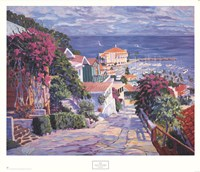 "The Road to the Harbor by John Cosby - 32"" x 28"""