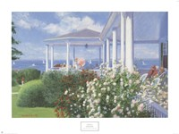 "The Verandah, 1985 by Candace Whittemore Lovely, 1985 - 32"" x 24"""