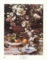 Azaleas and Oranges, 1987 Framed Print