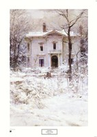 Victorian Winter, 1987 Fine Art Print