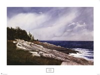 "Pemaquid Point by Doug Brega - 30"" x 23"""