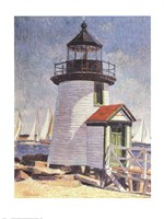Nantucket Lighthouse Fine Art Print