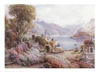 Villa Melzie, Como, Italy Fine Art Print