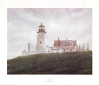 Fog at Pemaquid Fine Art Print