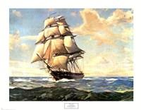 USS Constitution Fine Art Print