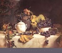 Grape Leaves Fine Art Print