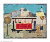 Street Railway Fine Art Print