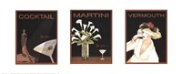 Cocktail Trilogy Fine Art Print