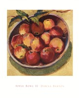 "Apple Bowl II by Dawna Barton - 24"" x 30"""