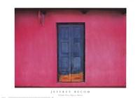 Fachada Rosa, Teopisca, Mexico Fine Art Print