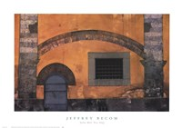 Yellow Wall, Pisa, Italy Fine Art Print