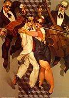 Tango Levitation Fine Art Print