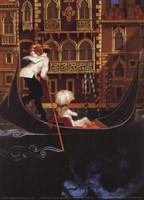 Sul Grande Canal Venezia Fine Art Print