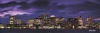 Boston at Dusk Framed Print