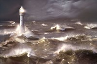 Lighthouse Wall Poster