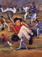 Little Leaguer Fine Art Print