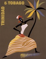Trinidad and Tobago Fine Art Print