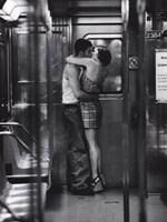 Subway Kiss Fine Art Print