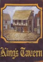 King's Tavern Fine Art Print
