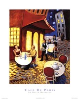 Cafe De Paris Fine Art Print