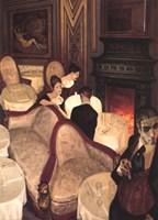 Confessions over Champagne Fine Art Print