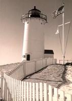 Lighthouse Isle Fine Art Print